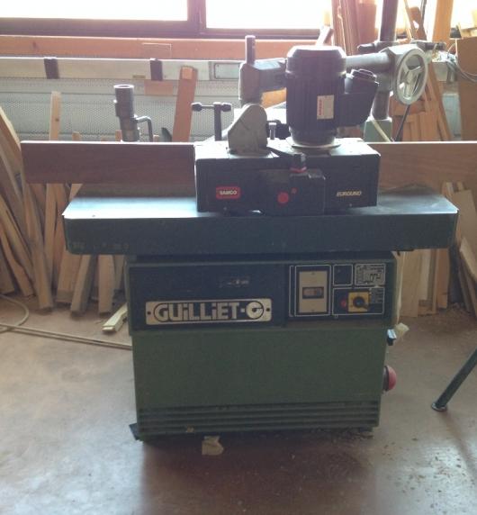 toupie guilliet qft machines a bois d 39 occasion. Black Bedroom Furniture Sets. Home Design Ideas