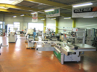 Show room machine aluminuim occasion