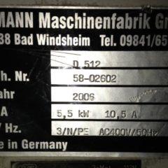 Machine occasion Raboteuse Hofmann D 512
