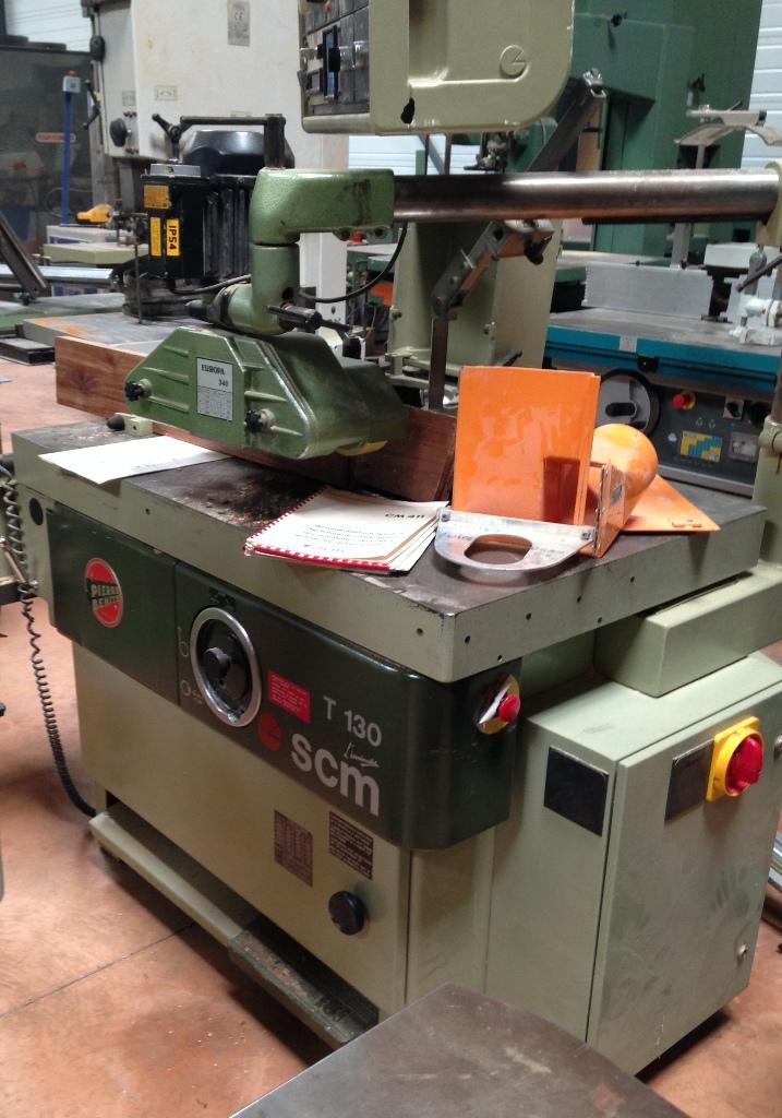 Toupie tenonneuse scm t130 machines a bois d 39 occasion - Toupie a bois ...