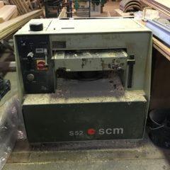 Raboteuse SCM S52